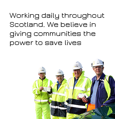 Lucky2BHere Working With Communities AED Training Defibrillators Saving Lives Scotland