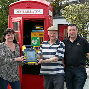 AED Saving Lives Communities Scotland Isle of Skye Ross Cowie