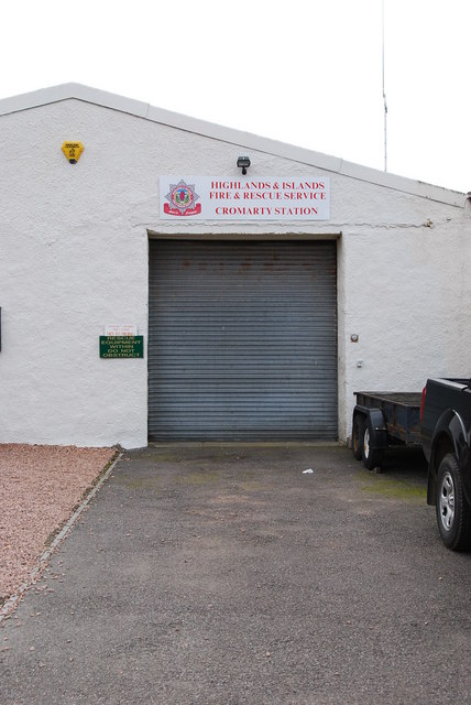 Cromarty Fire Station