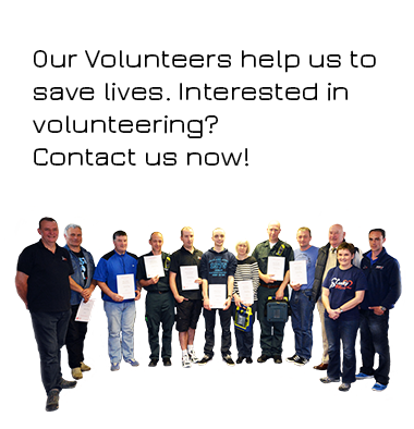 Volunteers Saving Lives NHS Pam Gowie Group Training Scotland Life Saving Skills