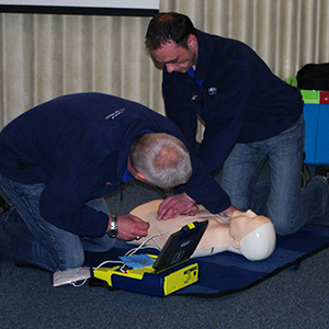 Volunteers Saving Lives Lucky2BHere NHS Highland Paramedics Trainers