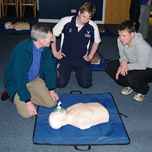 Training CPR Resuscitation Volunteers Lucky2BHere Saving Lives Scotland