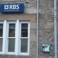 Defib location RBS Bank Tongue
