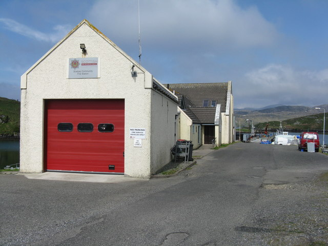 Scalpay Fire Station